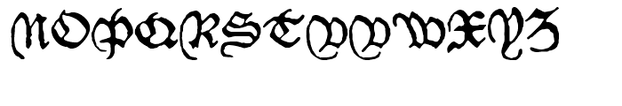 1479 Caxton Normal Font UPPERCASE