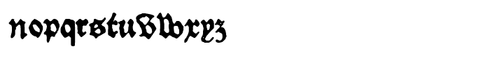 1479 Caxton Normal Font LOWERCASE