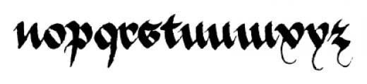 1475_Bastarde_Manual Normal Font LOWERCASE