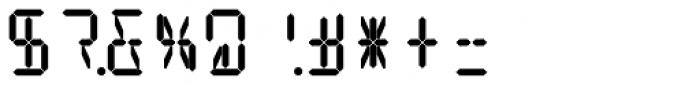 14 Segment LED Display Bold Font OTHER CHARS