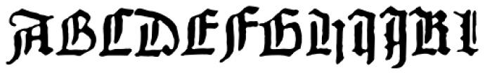 1456 Gutenberg B42 Pro Font UPPERCASE