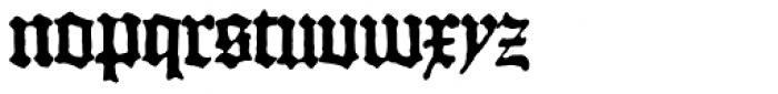 1456 Gutenberg B42 Pro Font LOWERCASE
