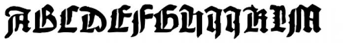 1456 Gutenberg Bold Font UPPERCASE