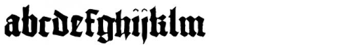 1456 Gutenberg Bold Font LOWERCASE