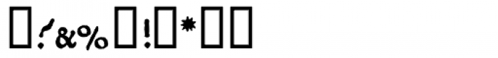 1470 Jenson Latin SC Bold Font OTHER CHARS