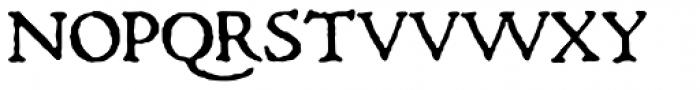 1470 Jenson Latin SC Bold Font UPPERCASE
