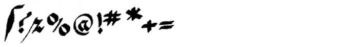 1475 Bastarde Manual Normal Font OTHER CHARS