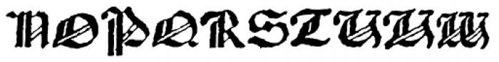 1483 Rotunda Lyon Font UPPERCASE
