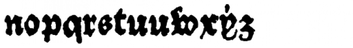 1484 Bastarde_Loudeac Normal Font LOWERCASE