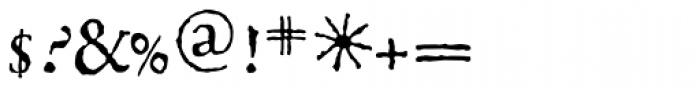 1499 Alde Manuce Pro Normal Font OTHER CHARS