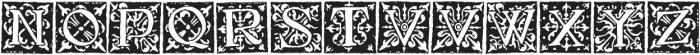 1512_Initials ttf (400) Font UPPERCASE
