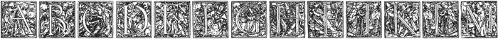 1523 Holbein otf (400) Font UPPERCASE