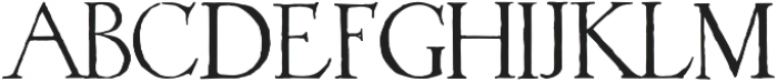 1523 Holbein otf (400) Font LOWERCASE