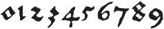 1525 Durer initials otf (400) Font OTHER CHARS