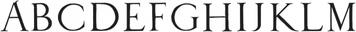 1525 Durer initials otf (400) Font LOWERCASE