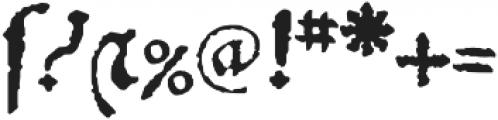 1532 Bastarde Lyon otf (400) Font OTHER CHARS