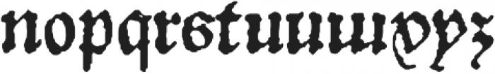 1532 Bastarde Lyon otf (400) Font LOWERCASE