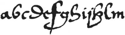 1536 Civilite Manual otf (400) Font LOWERCASE