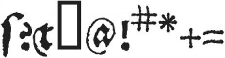 1538_Schwabacher otf (400) Font OTHER CHARS