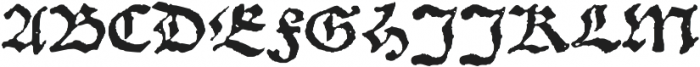 1538_Schwabacher otf (400) Font UPPERCASE