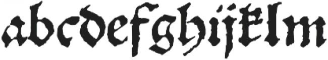 1538_Schwabacher otf (400) Font LOWERCASE