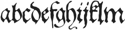 1543 German Deluxe otf (400) Font LOWERCASE