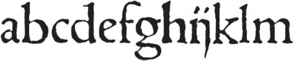 1543_Humane_Jenson otf (400) Font LOWERCASE
