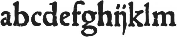 1543_Humane_Jenson otf (700) Font LOWERCASE
