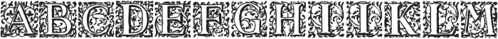 1550_Arabesques ttf (400) Font UPPERCASE