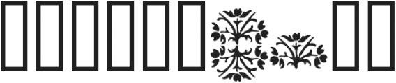 1565 Renaissance otf (400) Font OTHER CHARS