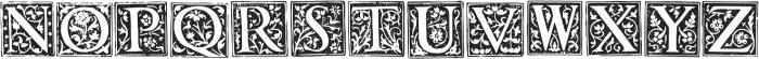 1565 Renaissance otf (400) Font UPPERCASE