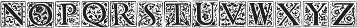 1565 Renaissance otf (400) Font LOWERCASE