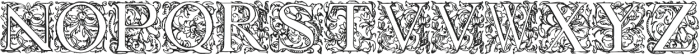 1584_Rinceau otf (400) Font UPPERCASE