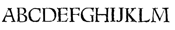 1543HumaneJenson Normal Font UPPERCASE