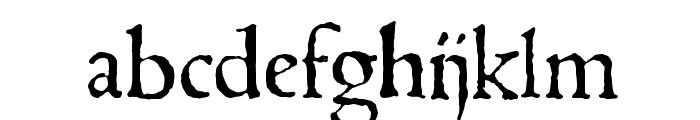 1543HumaneJenson Normal Font LOWERCASE