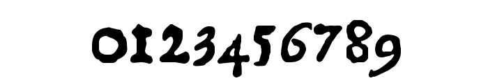 1550 Font OTHER CHARS