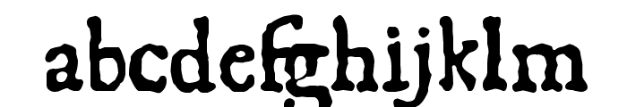 1550 Font LOWERCASE