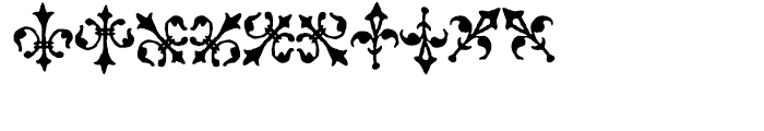 1512 Initials Normal Font OTHER CHARS