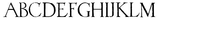 1523 Holbein Regular Font LOWERCASE