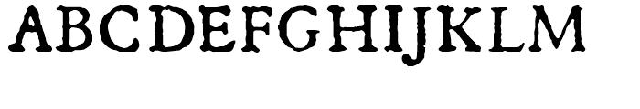 1533 GLC Augereau Normal Font UPPERCASE