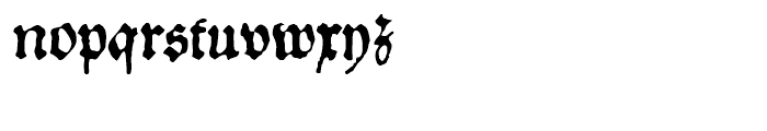1534 Fraktur Normal Font LOWERCASE