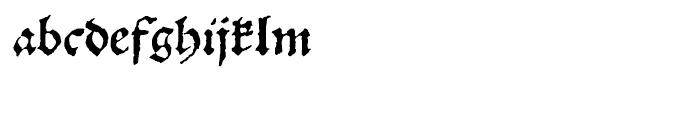 1538 Schwabacher Normal Font LOWERCASE