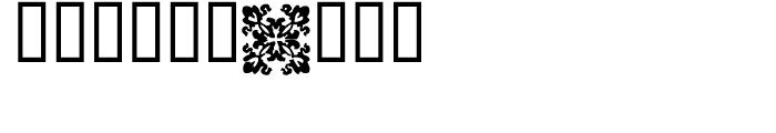 1550 Arabesques Regular Font OTHER CHARS