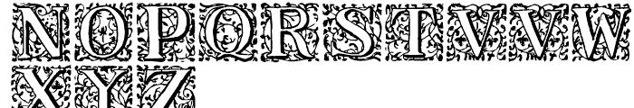 1550 Arabesques Regular Font UPPERCASE
