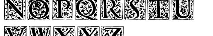 1565 Renaissance Regular Font LOWERCASE