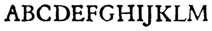 1533 GLC Augereau Pro Normal Font UPPERCASE