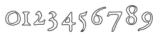 1565 Renaissance Regular Font OTHER CHARS