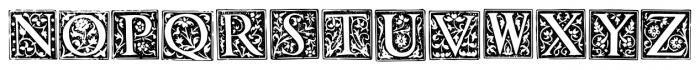 1565 Renaissance Regular Font UPPERCASE