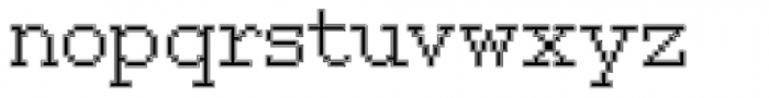 150 Inline Font LOWERCASE