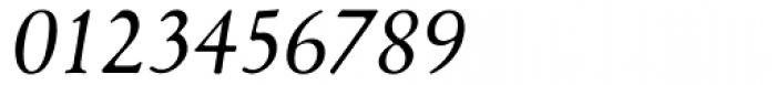 1530 Garamond Extra Italic Font OTHER CHARS